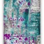 Teal Canvas Wall Art New Abstract Painting Large Wall Art Canvas Art Purple Plum Of Teal Canvas Wall Art