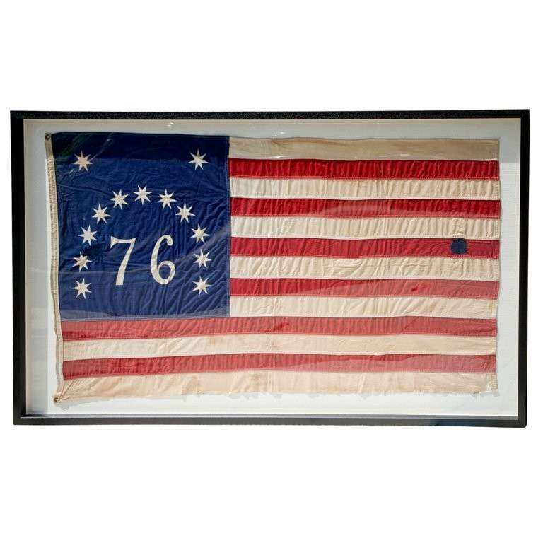 Vintage American Flag Wall Art Best Of Vintage Framed Usa Flag at ...
