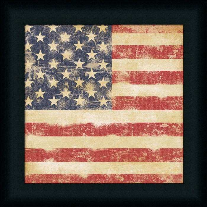Vintage American Flag Wall Art Luxury Usa Flag by Stephanie Marrott ...
