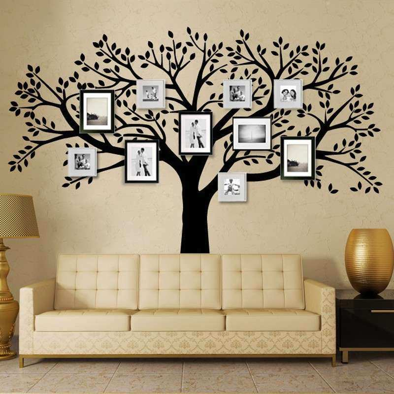 MCTUM Brand Family Tree Wall Decals Vinyl Wall Decal