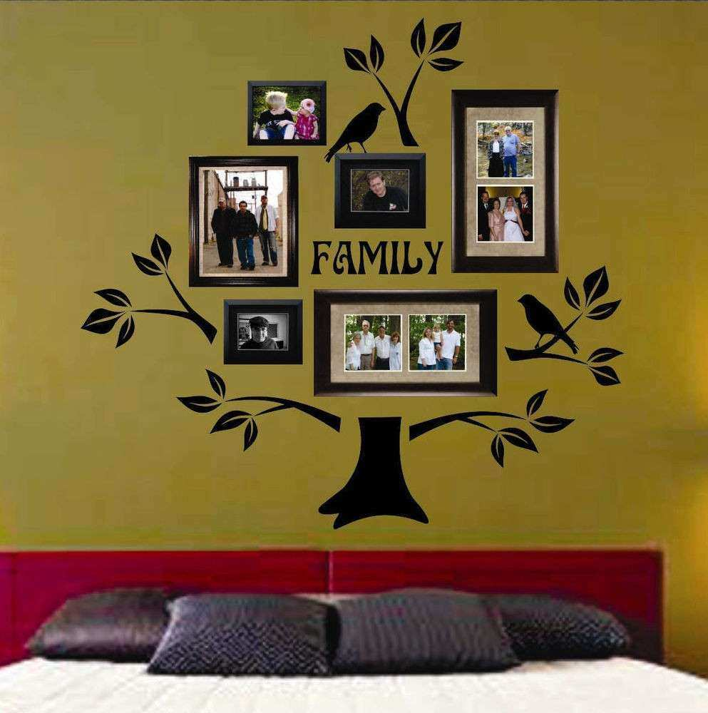 Vinyl Wall Decor Lovely Usa Vinyl Wall Lettering Decal Family Tree ...
