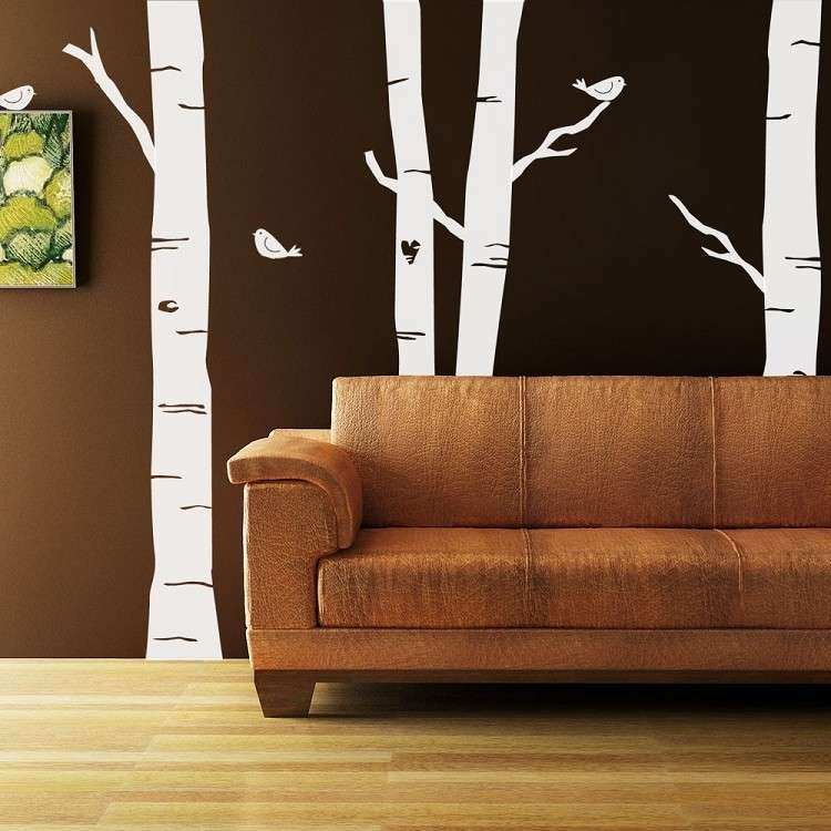 Forest Wall Mural Vinyl Wall Decals Kit