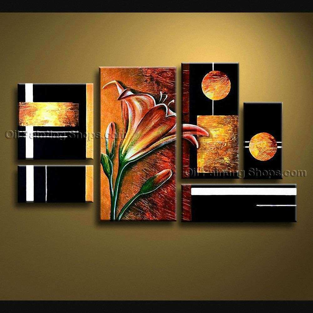 Extra Canvas Wall Art Contemporary For Living Room