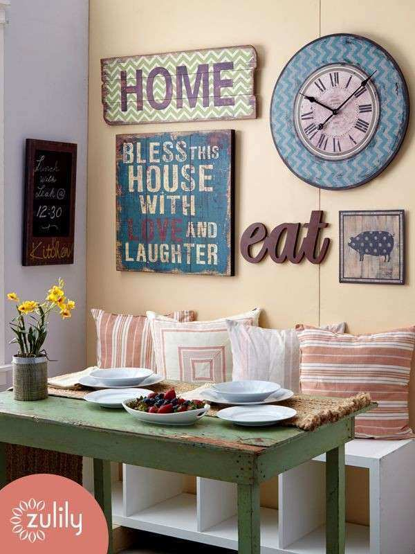 Wall Decor for Kitchen Lovely Best 25 Wall Clock Decor Ideas On ...