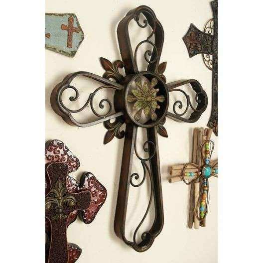 Wayfair Metal Wall Art New Cross Wall Decor 6 Metal Cross Wall Decor