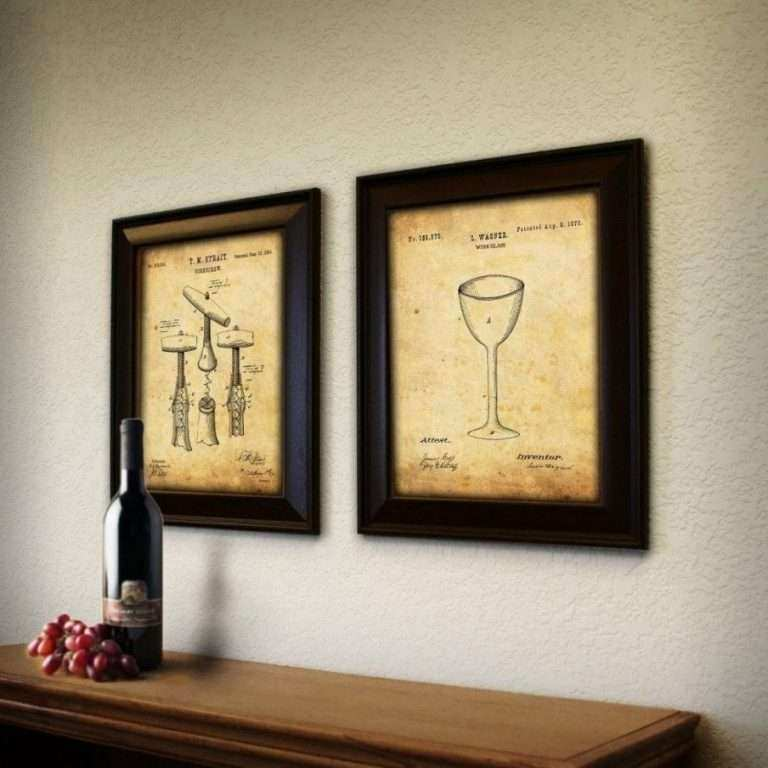 Wine Decor Wall Art Beautiful 20 Ideas Of Wine themed Wall Art ...