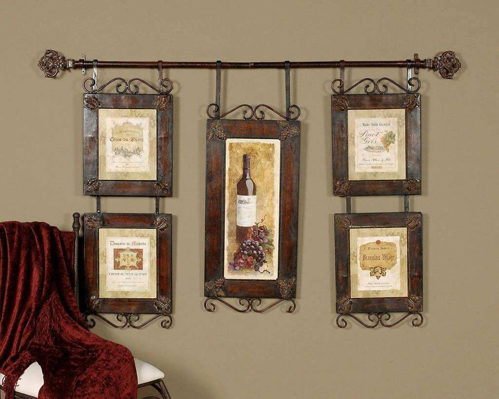 Wine Decor Wall Art Best Of Large Wine Collage French Country Tuscan Wall  Decor