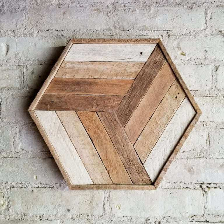 Wood Art Wall Awesome Reclaimed Wood Wall Art Decor Cube Gra Nt Lath ...