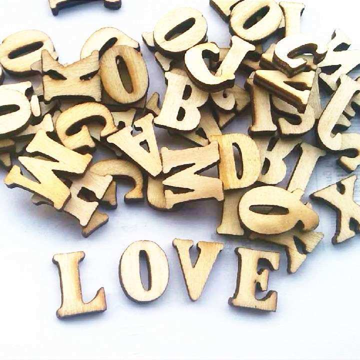 Wooden Letter Wall Decor Lovely Fashon English Letters Wedding Wood ...