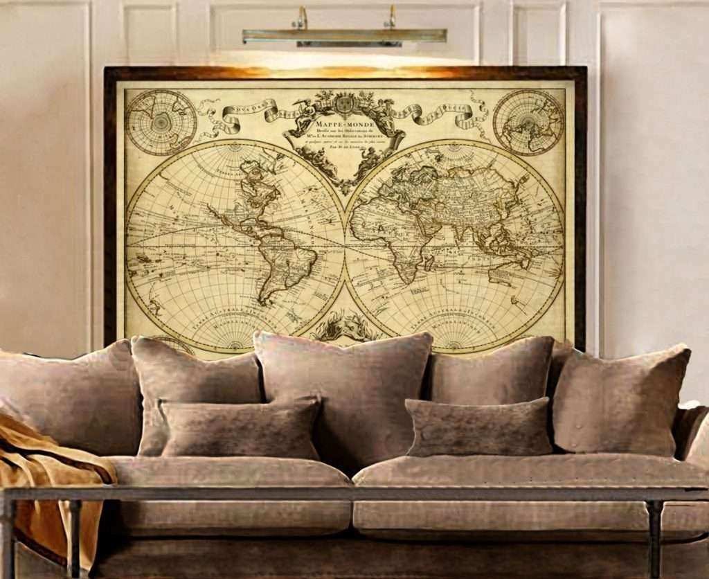 World Map Metal Wall Art Fresh Epic Old World Map Wall Art 81 In ...