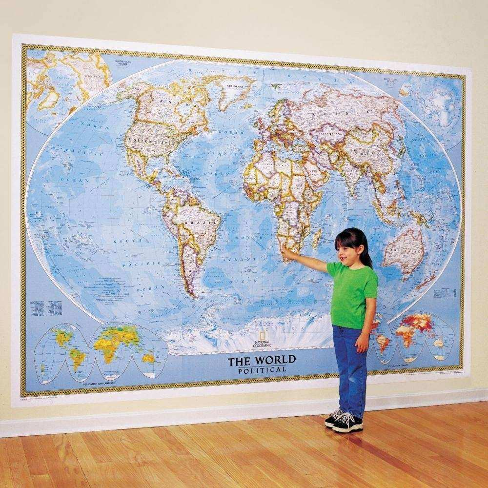 20 Best Collection of World Map Wall Art