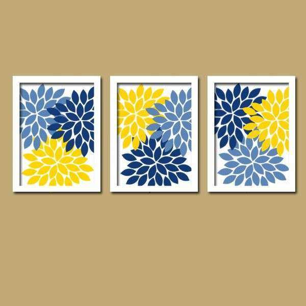 Yellow Canvas Wall Art Lovely Best 25 Yellow Wall Art Ideas On ...