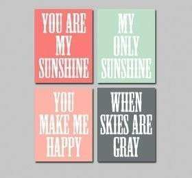 You Are My Sunshine Wall Decor ‹ Decor Love