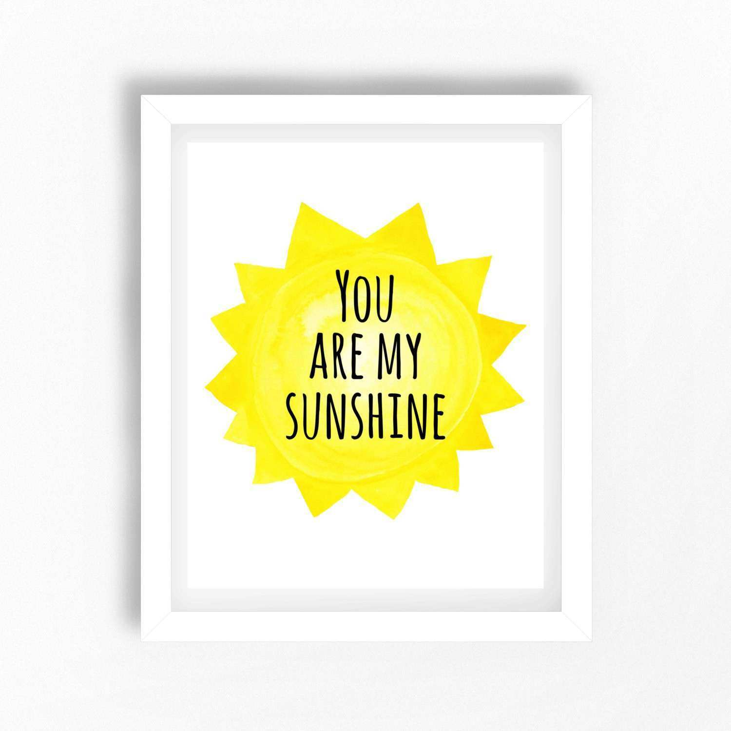 You are My Sunshine Wall Decor Luxury You are My Sunshine Wall Art ...