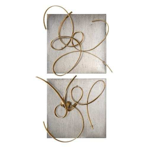 Harmony 2 piece Metal Wall Art Set