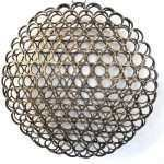 3 D Metal Wall Art Awesome Round 3 D Wall Art Industrial Wall Art Sliced Pipe By Of 3 D Metal Wall Art