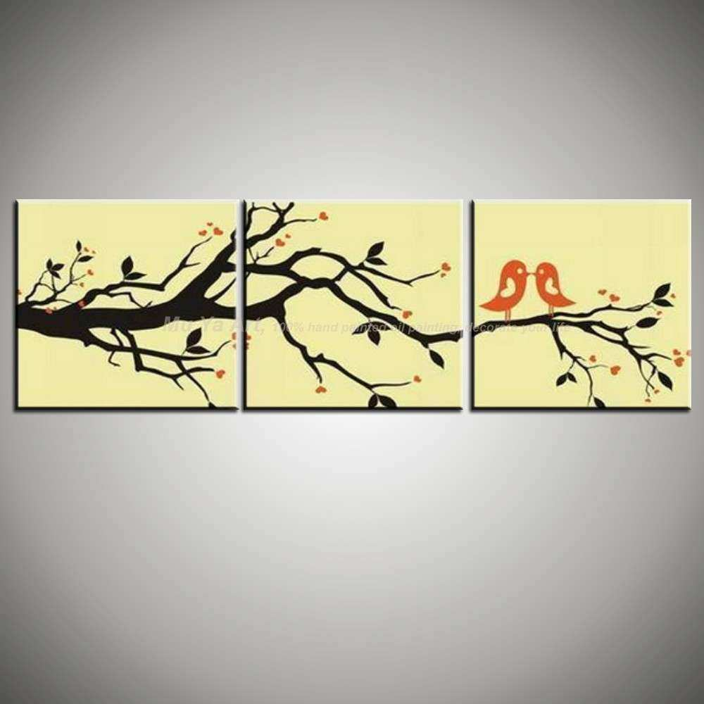 Abstract 3 panel wall art canvas wall picture modern wall