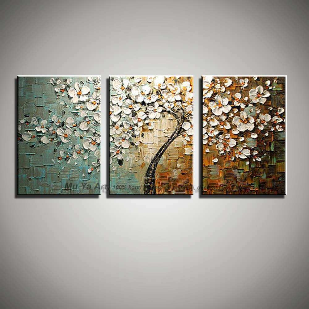 Aliexpress Buy 3 piece wall art modern paintings