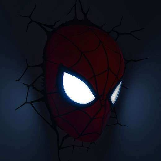 3d wall art nightlight spiderman face unique marvel 3d wall 3d wall art nightlight spiderman face unique marvel 3d wall nightlight spider man mask tar aloadofball Image collections
