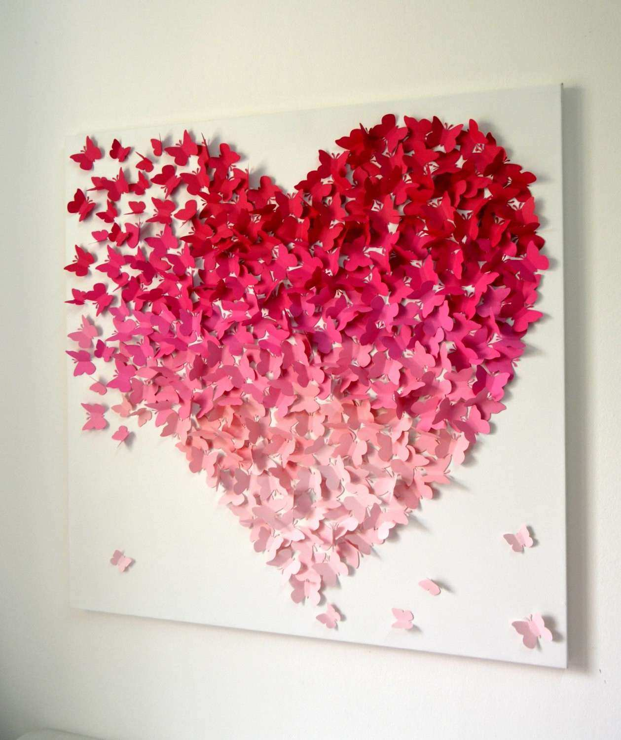 3d Wall Decor Awesome Modern 3d Butterfly Wall Art For Girls Room Nursery  Wedding