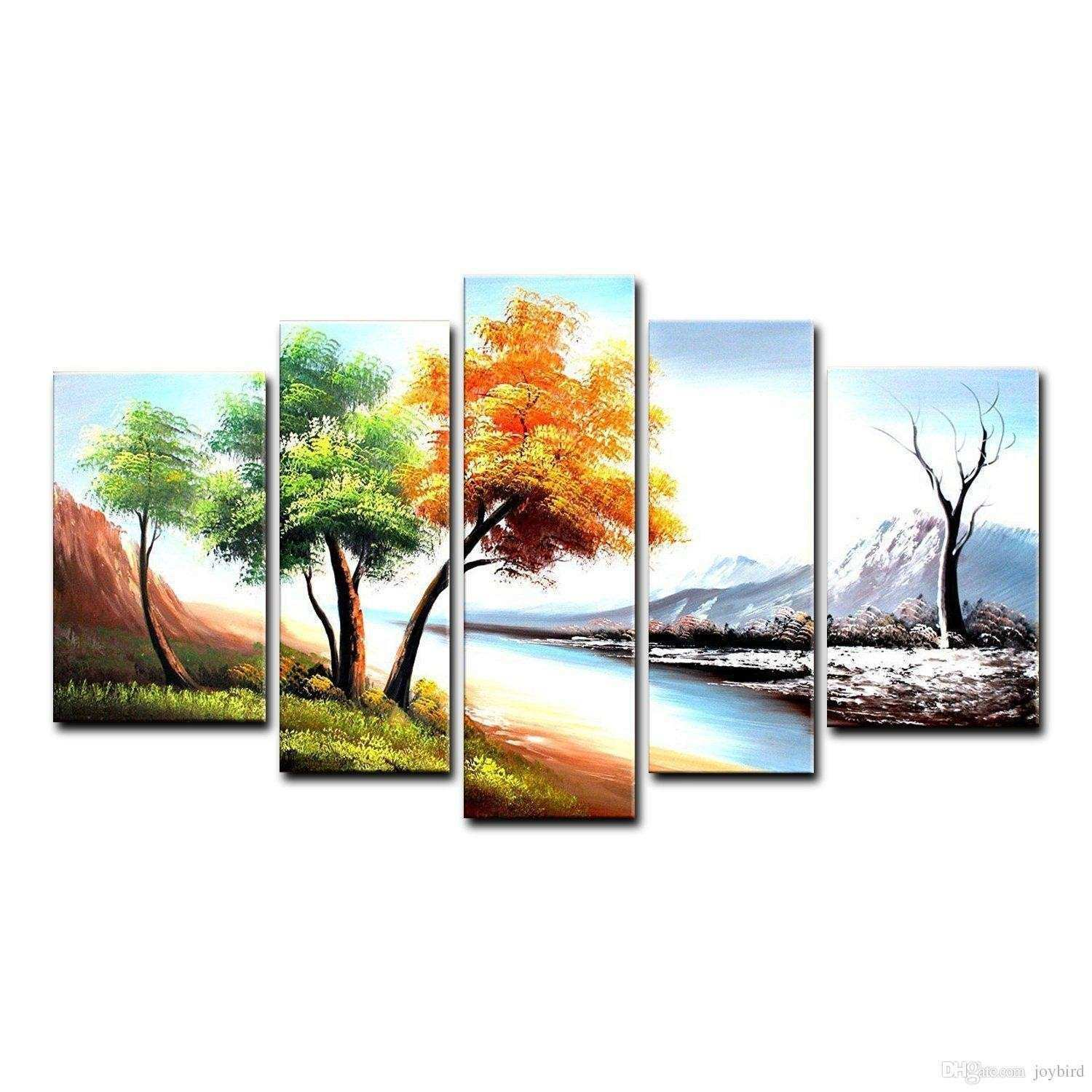 Beautiful Modern Abstract Huge Wall Art Oil Painting