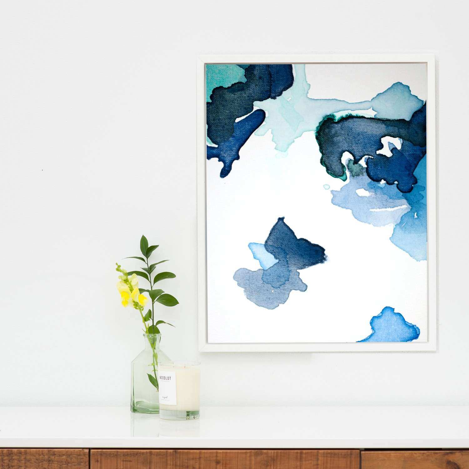 Wonderful Looking Cheap Wall Art Prints Also Abstract Print