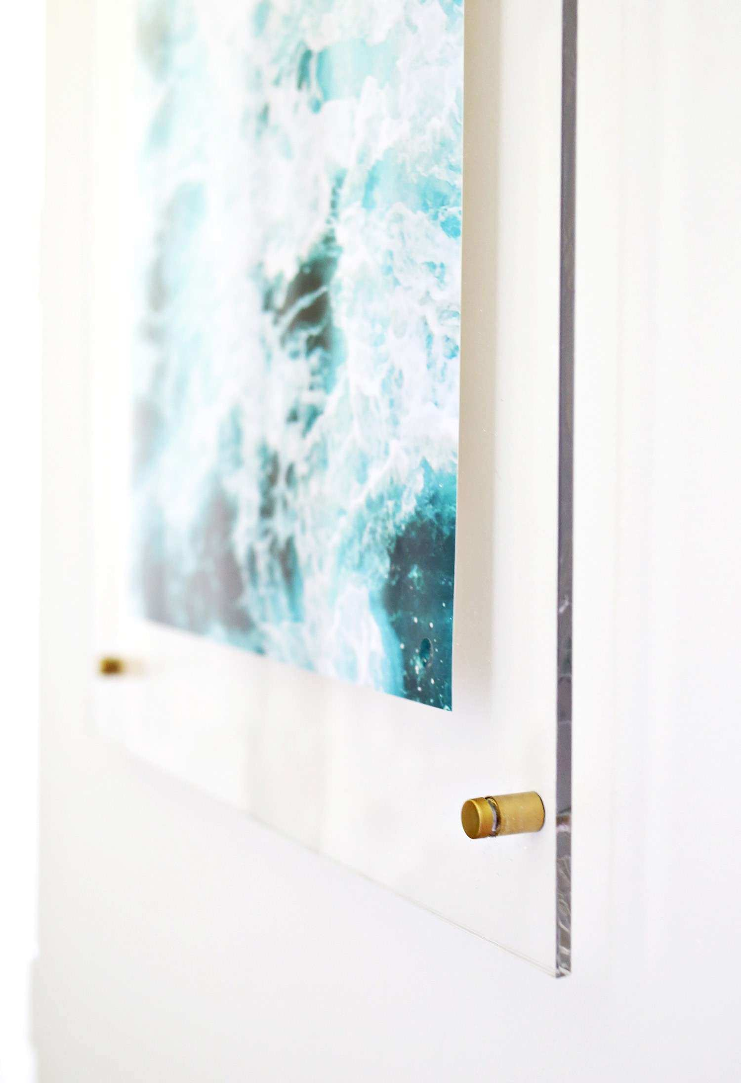 Acrylic Wall Mount Picture Frames Luxury Floating Acrylic Frame Diy ...