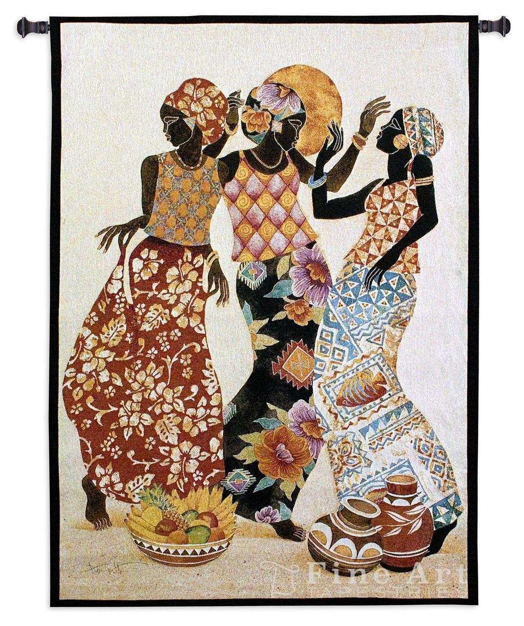 Jubilation African Tapestry Wall Hanging Ethnic Designs