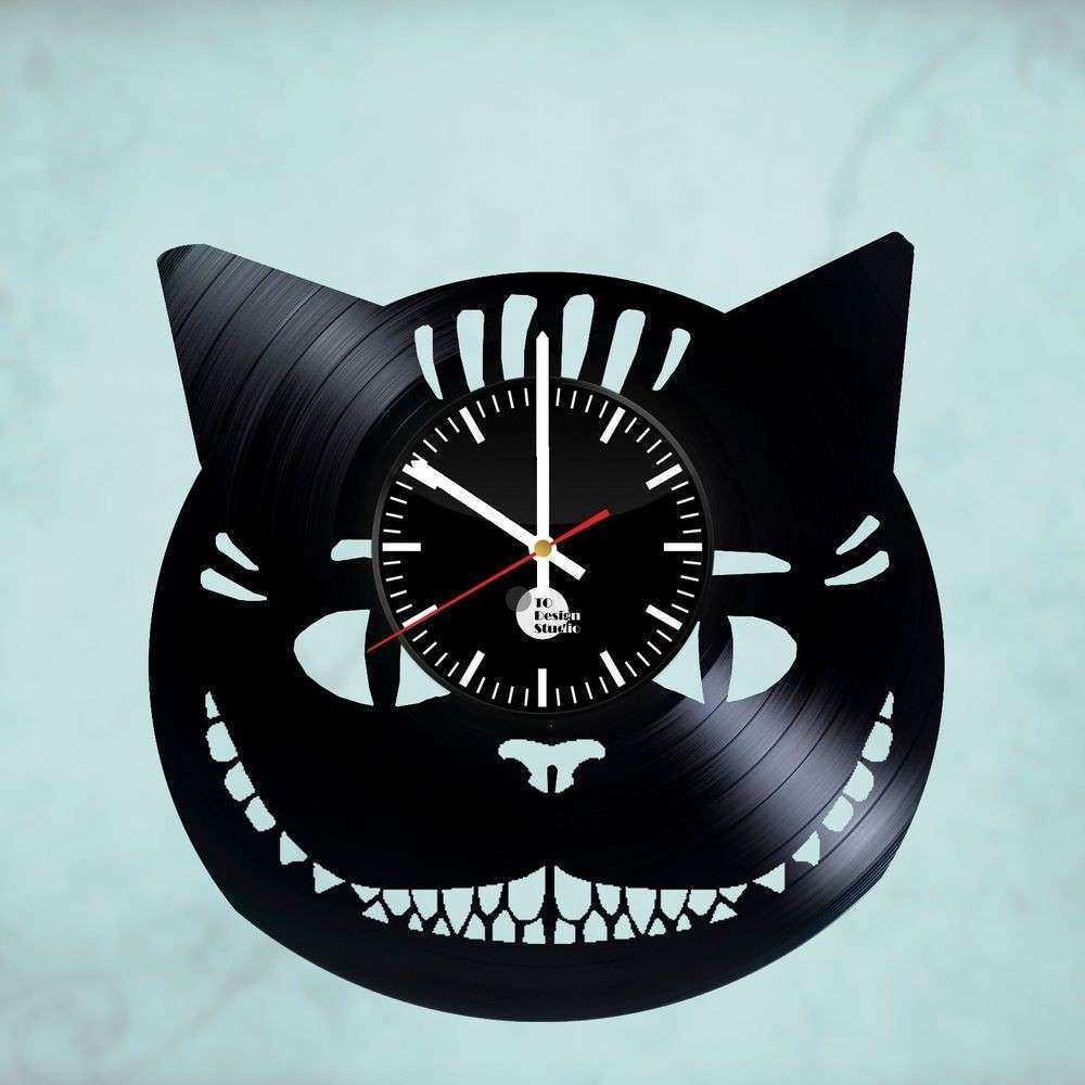 Alice in Wonderland Cheshire Cat HANDMADE vinyl record