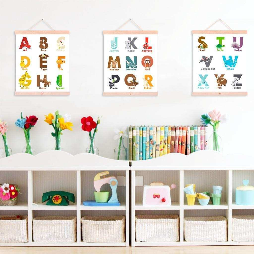 Poster Alphabet Letters Promotion Shop for Promotional