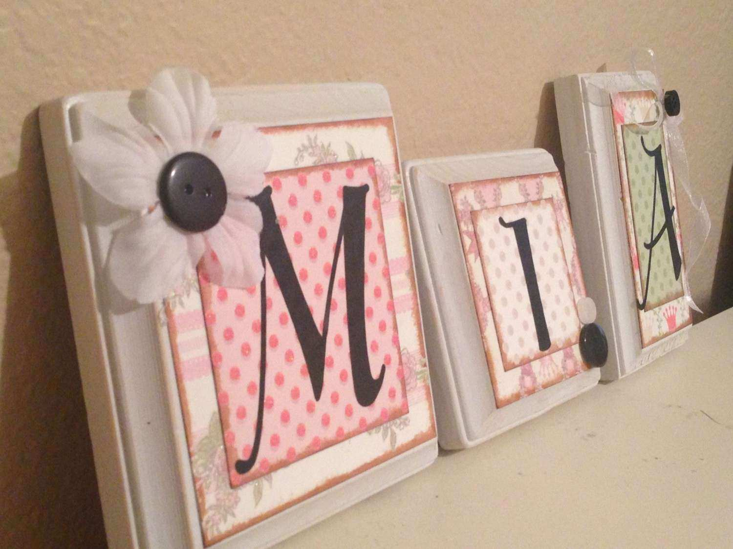 Wall Art Designs personalized name wall art letters