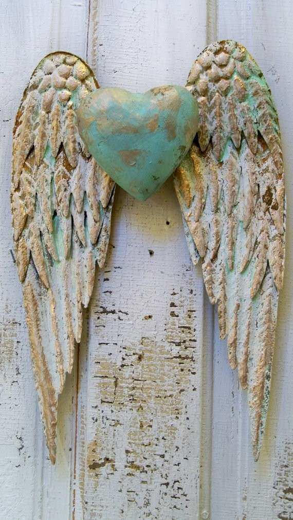 Angel Wall Decor Beautiful Inspirational Metal Angel Wings Wall Decor