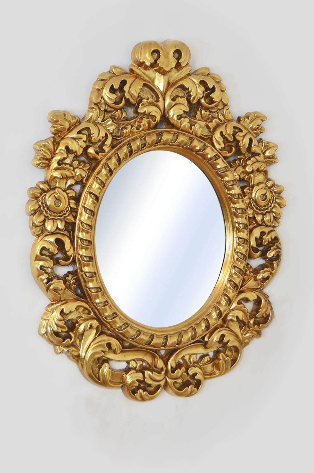Antique Wall Mirrors Decorative Beautiful Antique Style Mirrors Wall