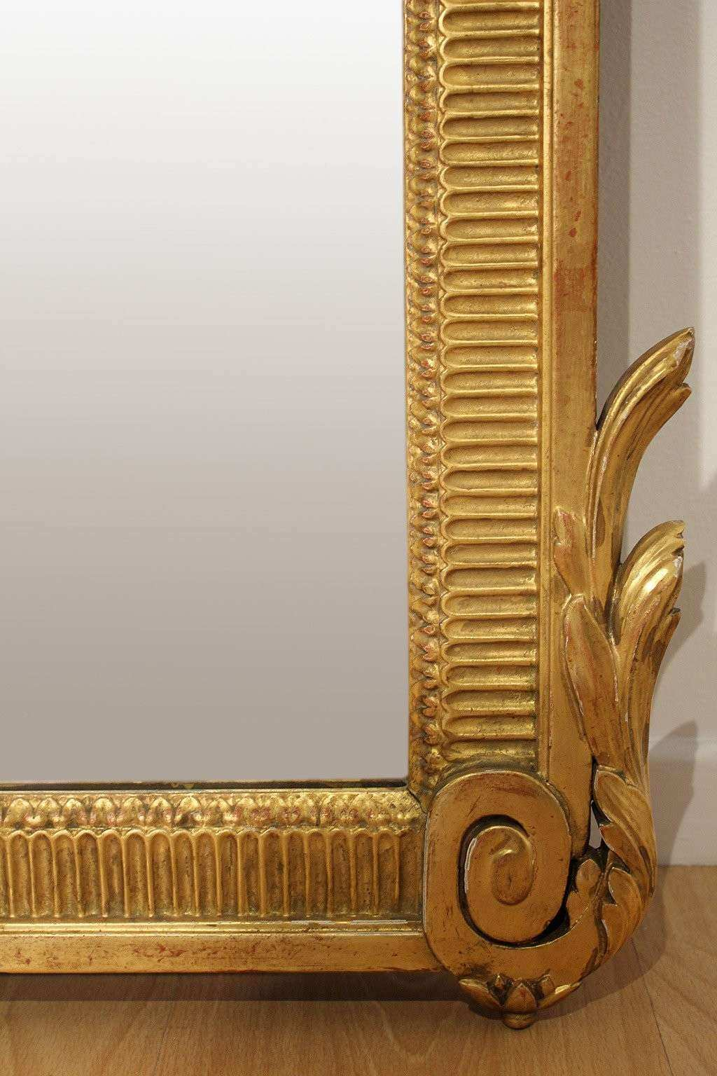 Antique Wall Mirrors Decorative Elegant Antique French Neoclassical Decorative Gold Framed