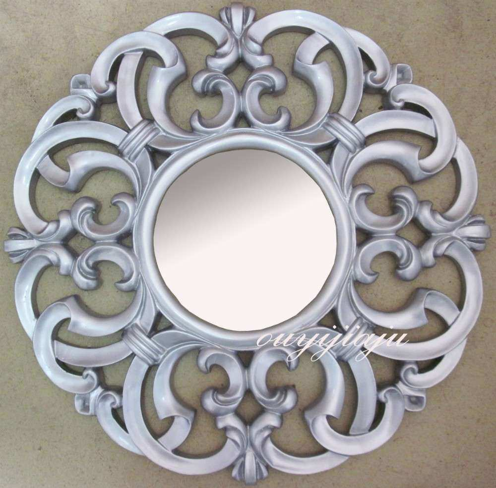 Antique Wall Mirrors Decorative Inspirational Large Big Resin Decorative Cosmetic Vintage Wall Sun