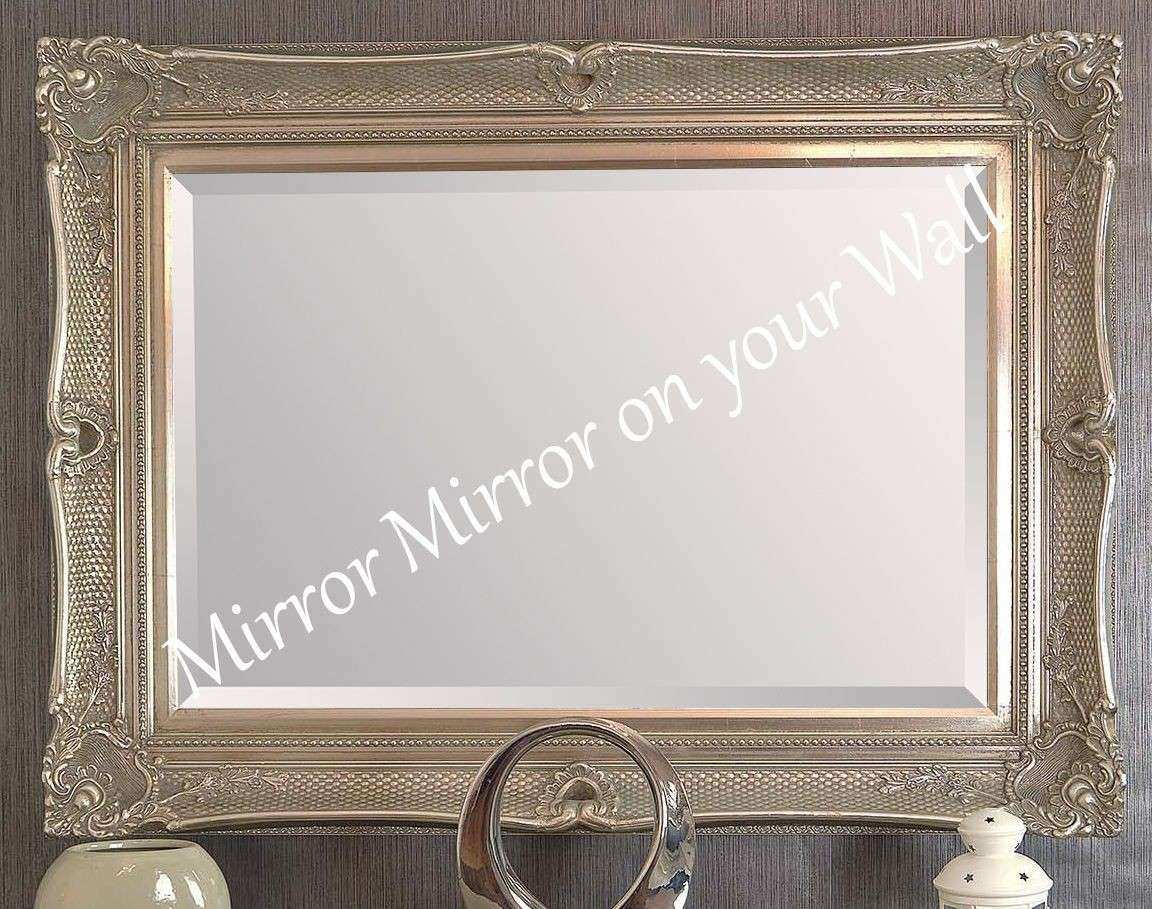 Antique Gold Decorative Wall Mirror Choice of Size