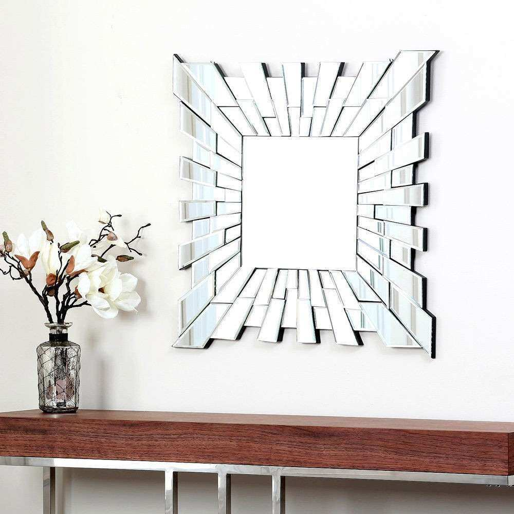 Antique Wall Mirrors Decorative Luxury Small Square Wall Mirror Home Decorative Decor Mirrors