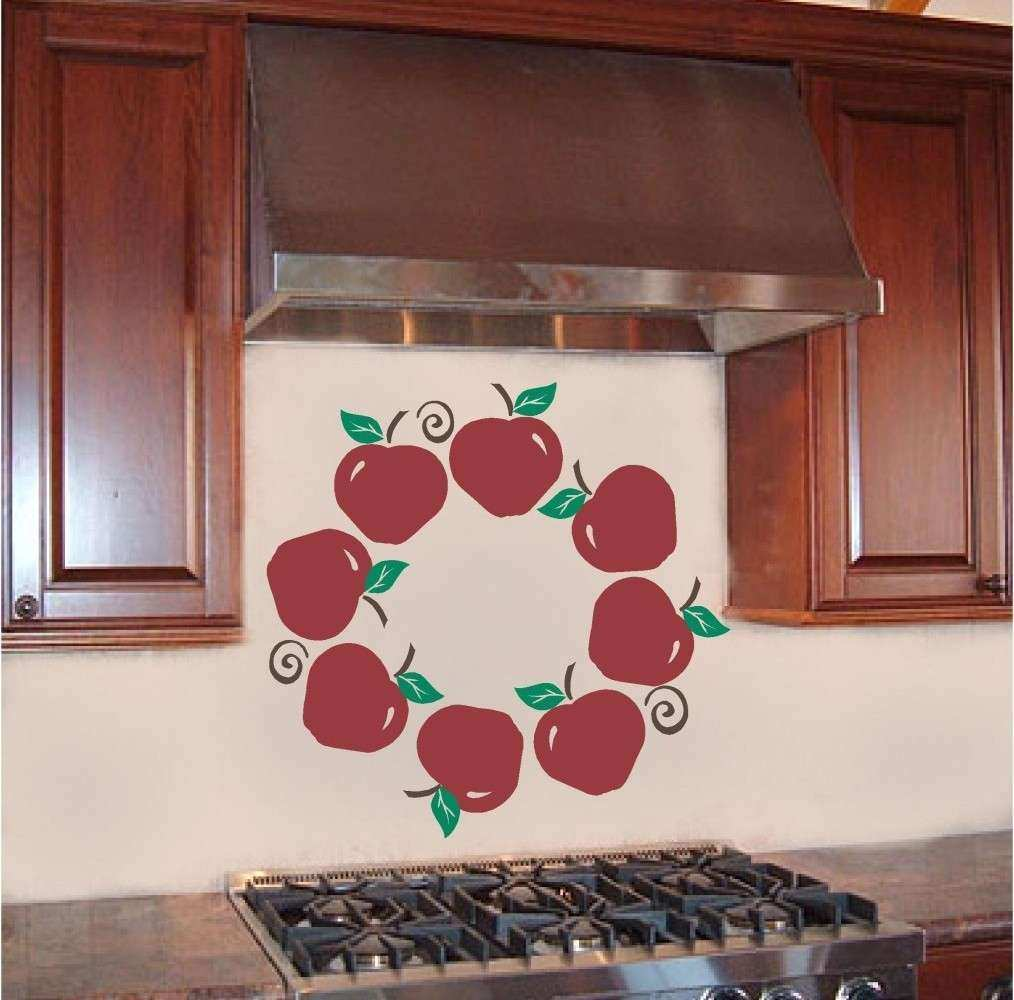Apple Kitchen Decor Cheap In Scenic Kitchen Country Apple