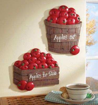 Apple Wall Decor for Kitchen Fresh 68 Best Apples Kitchen Images On Pinterest