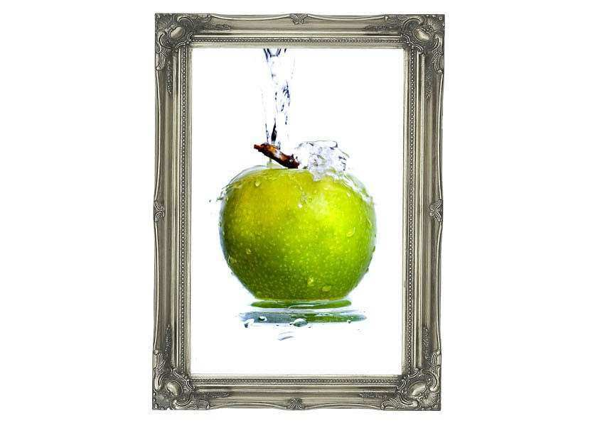 Apple Wall Decor for Kitchen Fresh Apple Waterfall Kitchen Art Mural ...