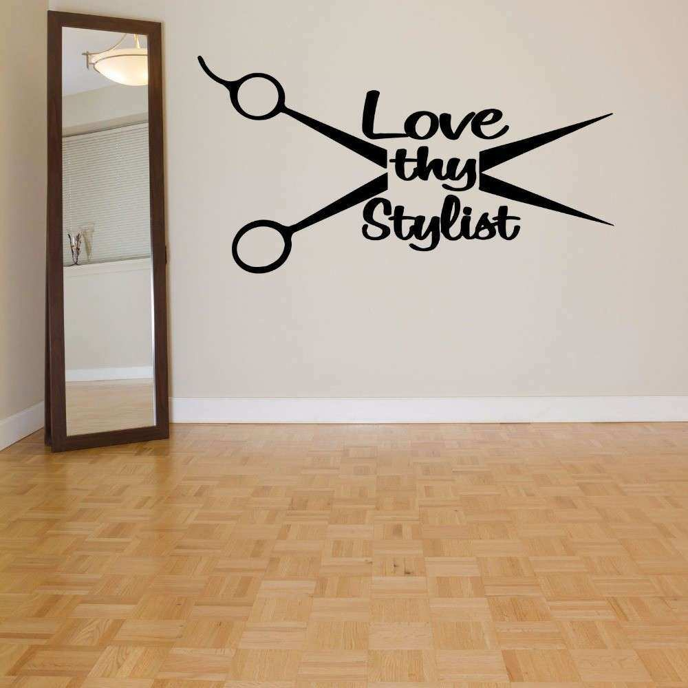 Wall Art Ideas Design Salon Sticker Shop Wall Art