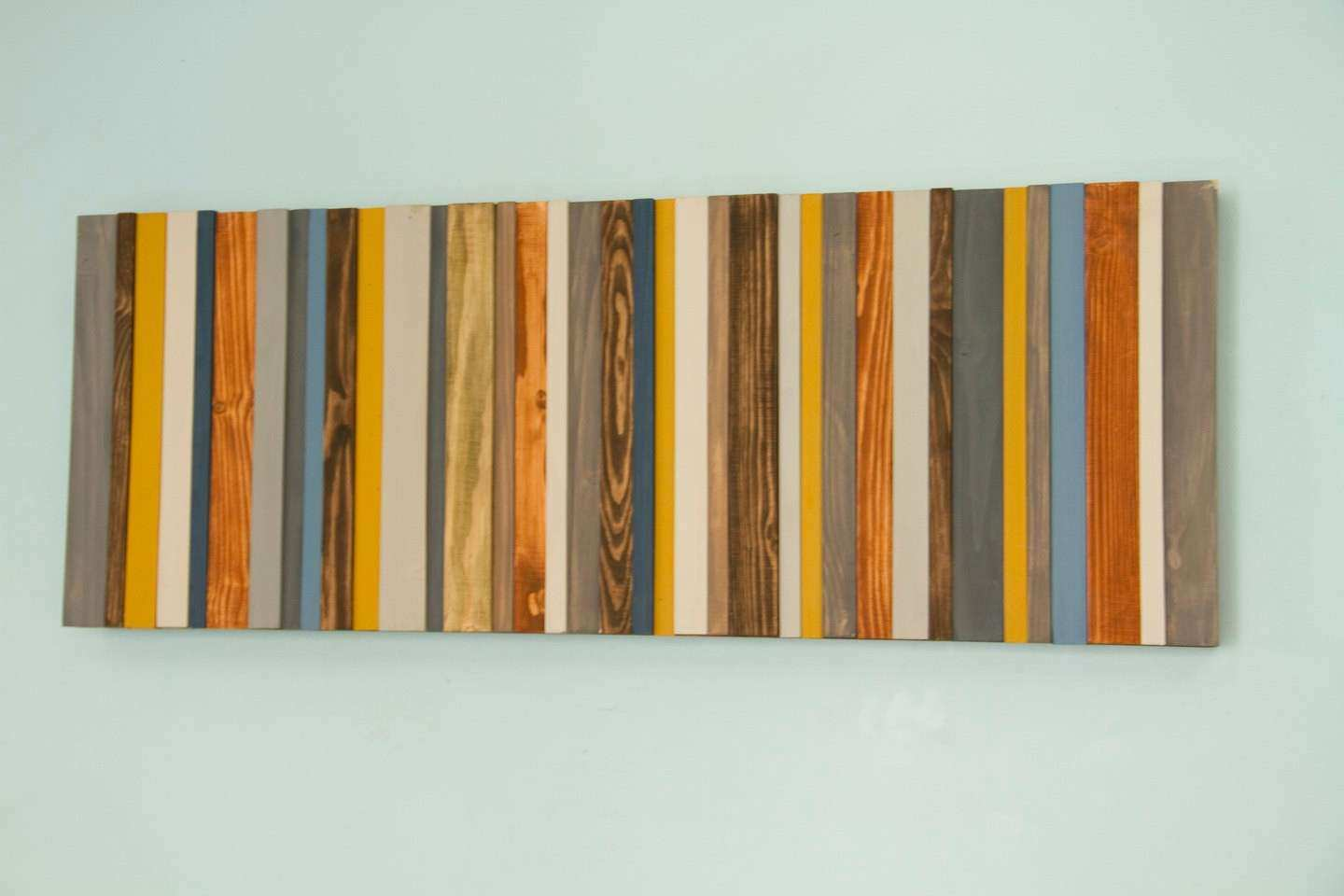 Wood Wall Art Modern wood decor reclaimed wood sculpture