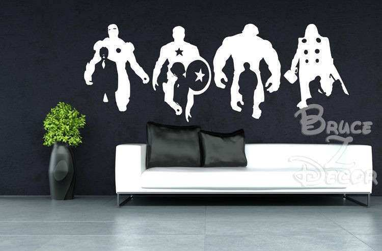 Wall Decal Good Look The Avengers Wall Decals Avengers