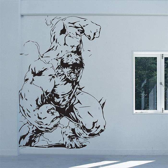 Hulk Avengers Superhero Vinyl Wall Art Decal
