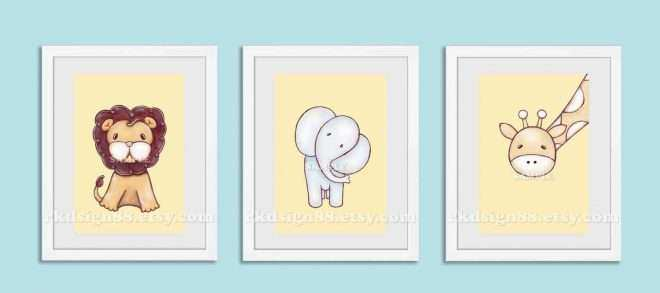Baby Boy Nursery Wall Decor Luxury Nursery Art Prints Baby Boy ...