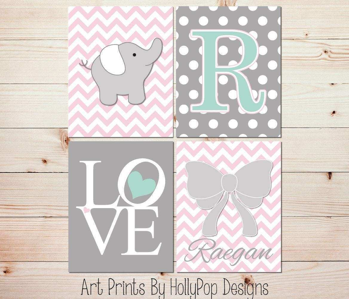 20 Best Collection of Pink and Grey Wall Art