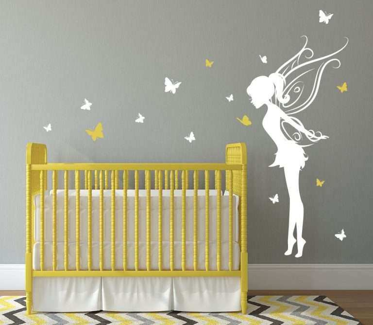 Baby Girl Room Wall Decor New Baby Girl Room Decor Fairy Wall Decal ...