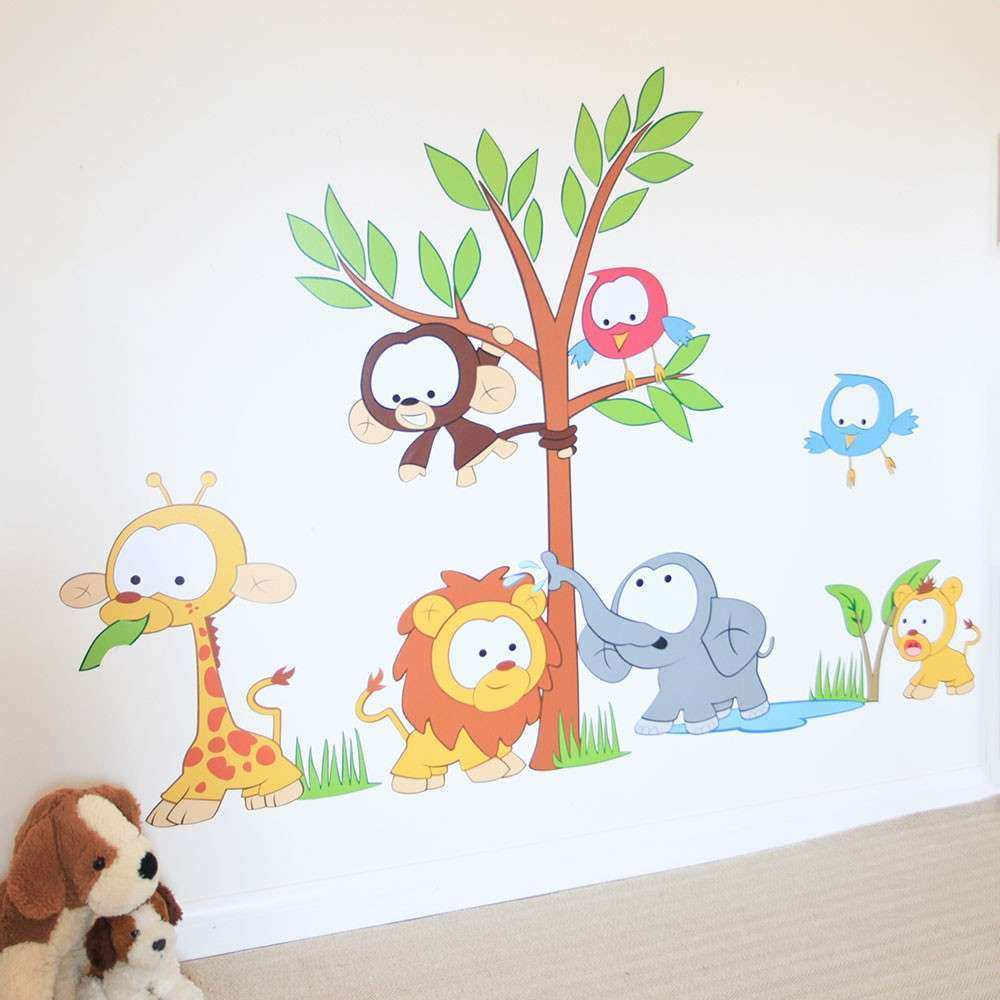Baby Girl Nursery Wall Art Stickers baby room wall art new wall art decor kids baby wall art stickers
