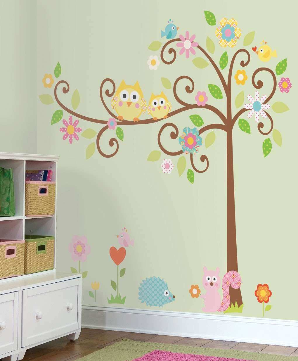 Home Design — Baby Room Owl