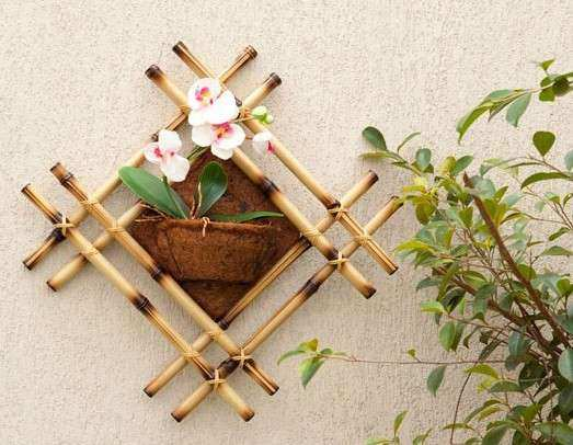 DIY bamboo wall decor ideas 2 craft projects with bamboo